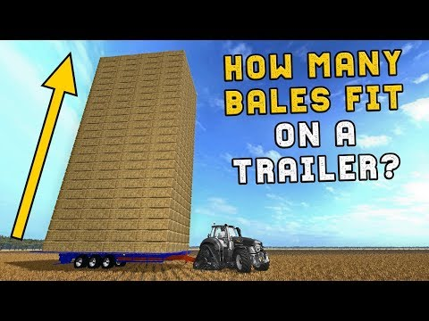 HOW MANY BALES CAN YOU FIT ON A TRAILER?
