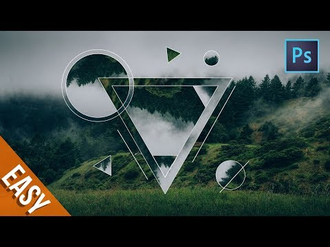 [Photoshop Tutorial] How to Make a Geometric Collage in Photoshop - geometry tutor #1