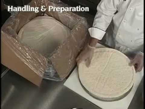 Rich's Par-baked Pizza Dough and Flatbreads Handling Instructions