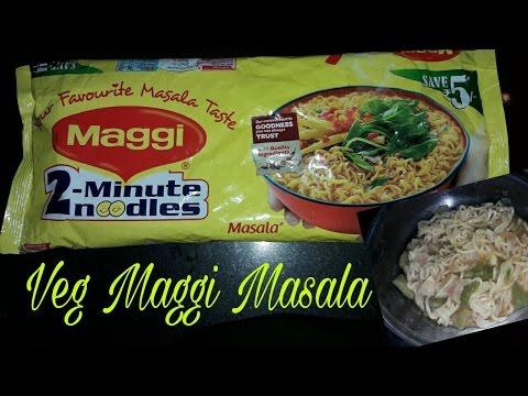 Vegetable Maggi Masala Recipe/ in hindi/How To Make Veg Maggi