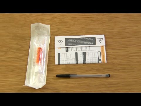 How to collect your samples (female STI self-sampling kit)
