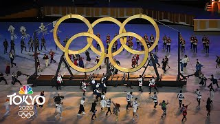 Best of Day 0 at the Tokyo Olympics: Opening Ceremony kicks off the Summer Games   NBC Sports