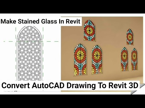 Islamic Window Design In Revit Architecture Tutorial #23
