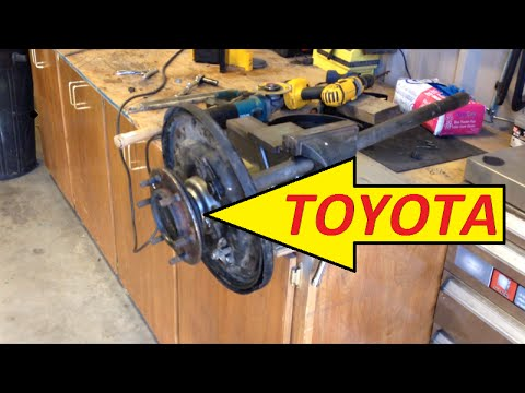 Toyota Pickup Rear Axle Wheel Bearing/Seal Replacement.