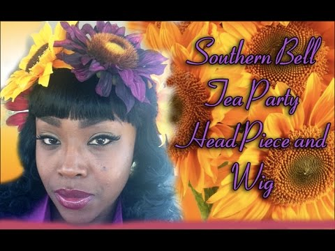 How to Make a Tea Party Sunflower Crown| Wig Styling
