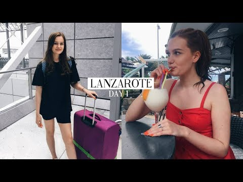 TRAVELLING TO LANZAROTE AND DAY 1 IN COSTA TEGUISE | Caitlin Rose