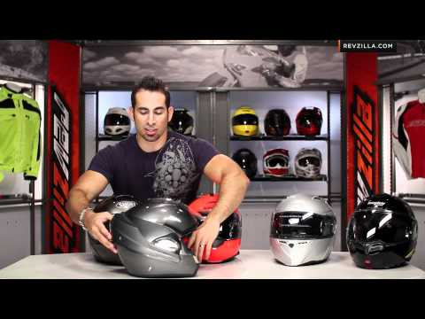 Modular Helmet Overview and Sizing Guide at RevZilla.com