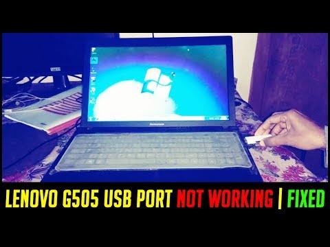 LENOVO G505 USB PORT NOT WORKING | FIXED | How to fix Laptop USB  3.0 Not Working & Install Driver