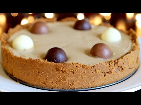 No Bake Biscoff (Speculoos) Cheesecake Recipe - Hot Chocolate Hits