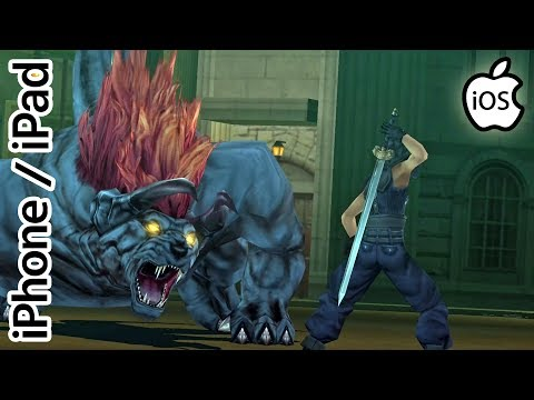 Crisis Core: Final Fantasy VII | PPSSPP Emulator | iPhone / iPad / iOS [1080p] | Sony PSP