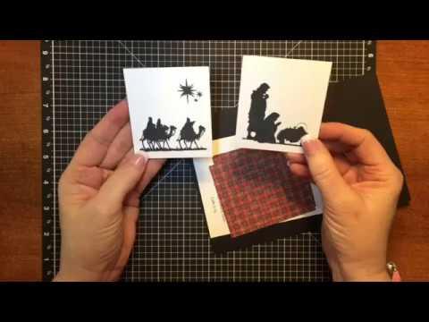 Wise Men Tri Fold Card