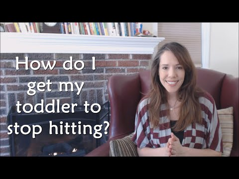 How To Get Toddlers to Stop Hitting