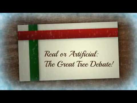 Real or Artificial? The Great Christmas Tree Debate!