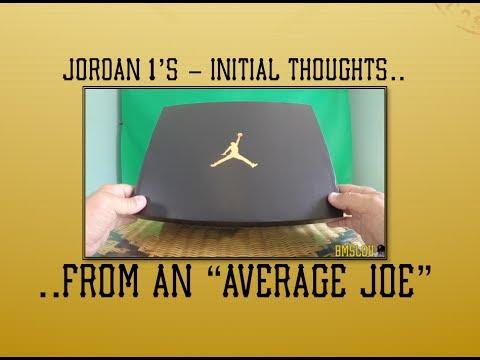 Air Jordan 1 retro sneakers NEW LOVE review