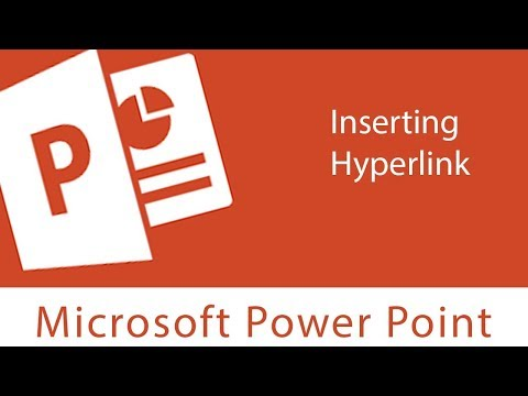 Powerpoint : Inserting Hyperlink | Open, Test and Remove