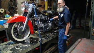 187 1978 93ci stroker shovelhead big bore motor new bike