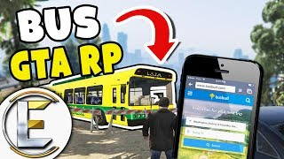 Fun Bus - GTA RP (Call And Wait For A Bus And A Tractor Comes)