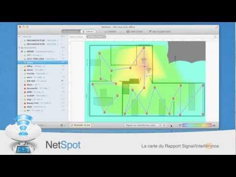 NetSpot fait le plan de votre environnement Wi-Fi. Étude de site Wi-Fi