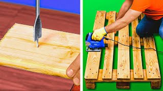 25 DIY FURNITURE IDEAS to make your home convenient