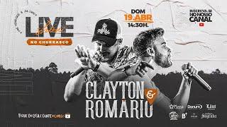 Clayton e Romário LIVE