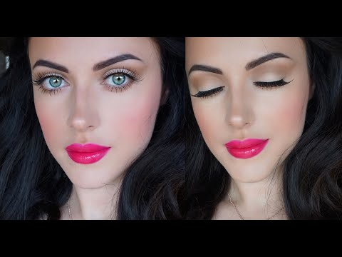 My super fast  every day makeup look