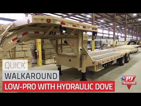 Low-Pro Flatdeck with Hydraulic Dove (LY) Quick Walkaround