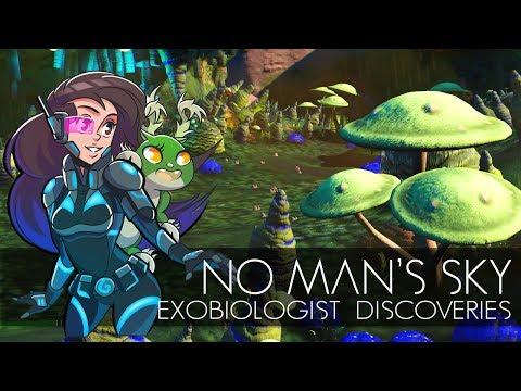 Don't Eat the Toxic Alien Mushrooms!! • No Man's Sky: Exobiologist Discoveries 2 - Episode #1