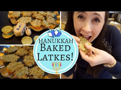 How to Bake Latkes! The BEST Healthy, Simple, Easy NO FRY Baked Latkes RECIPE!!