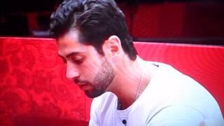 Marcelo xinga Aline após ela votar em Angela bbb14