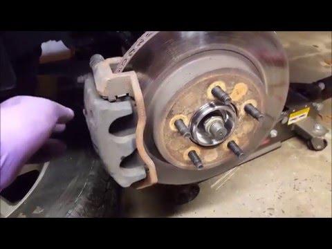 Ford Explorer wheel bearing replacement