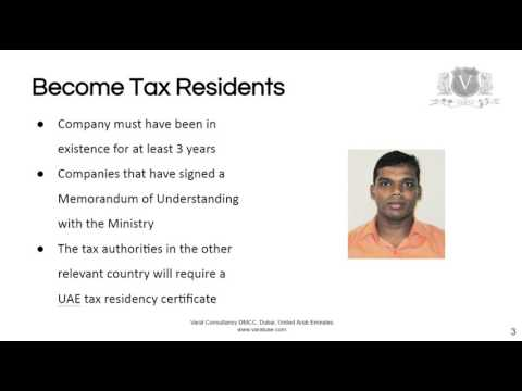 UAE Tax Residency | Discover How To Avoid Double Taxation
