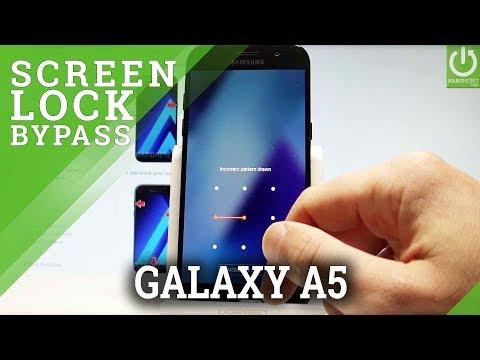 Hard Reset SAMSUNG Galaxy A5 (2017) - Bypass Screen Lock