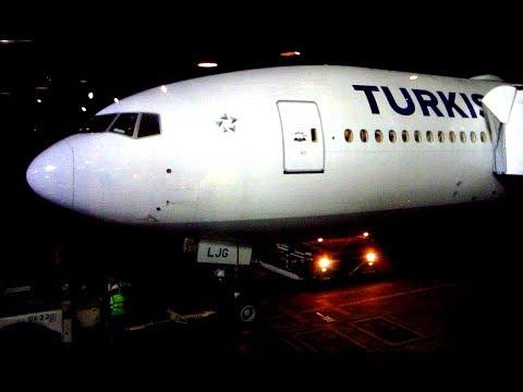 Boeing 777-300ER Turkish Airlines Buenos Aires - São Paulo + Expo Aviación + Playas Ubatuba