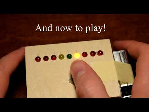 Arduino LED Roulette Game | Easy to Make!