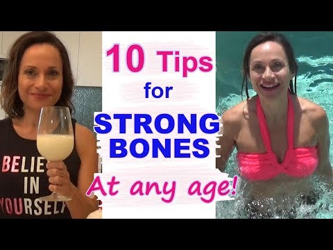 10 Tips for STRONGER BONES at Any Age - Even After Menopause!