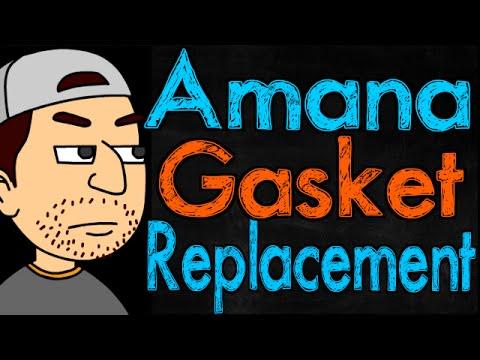Amana Refrigerator Gasket Replacement