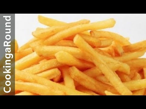 The Best Homemade French Fries  - Crispy.