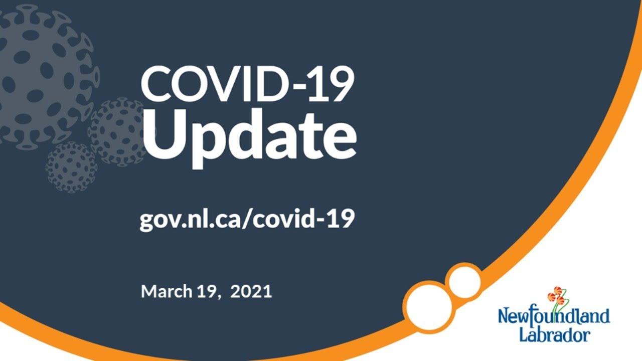 March 19, 2021 COVID-19 Update