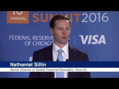 Visa's Nat Sillin's Opening Remarks at the 2016 Financial Literacy Summit