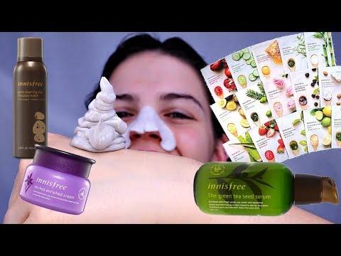 INNISFREE Skincare Routine | Talk Through