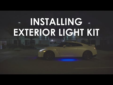 Type S Exterior Smart Light Kit Installation