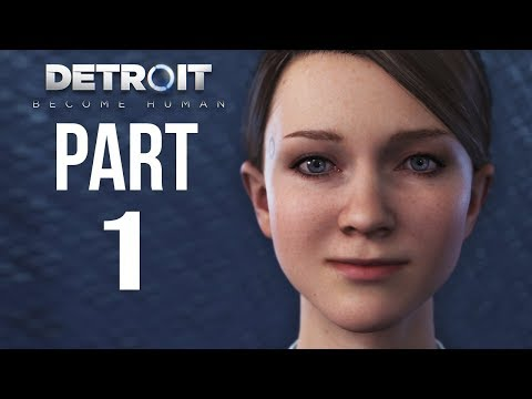 GLOCO plays DETROIT BECOME HUMAN Part 1 | The Future | Gameplay Walkthrough (Full Game)
