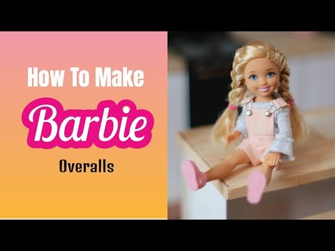 How To Make Barbie Doll Overalls