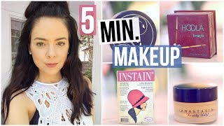 My 5 Minute Makeup Routine!