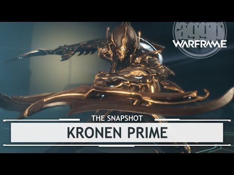 Warframe: Kronen Prime, At Least It's Not The Clap - 3 Forma Build [thesnapshot]