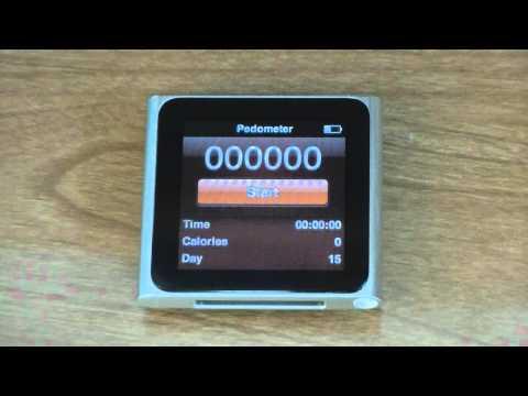 Pedometer & Fitness App- iPod Nano 6G