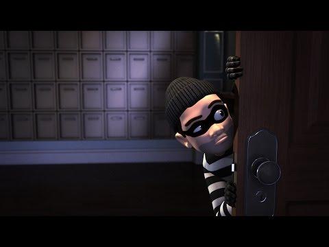 Maya Tutorial Now Available: Animating a Cartoon Burglar Scene