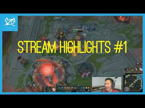 Funny League of Legends Moments | Stream Highlights #1