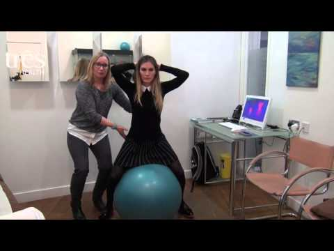 Rider Exercises With A Medicine Ball