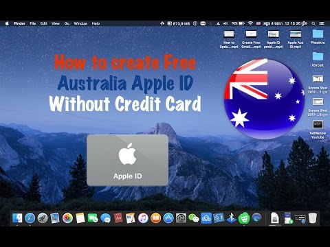 Create Free Australia Apple ID without Credit Card